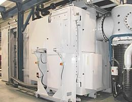 Semi-continuous vacuum furnace for the brazing of aluminium heat exchangers