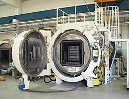 35 bar diffusion bonding furnace for the production of aerospace components