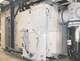 Semi-continuous vacuum furnace for the brazing of aluminium heat exchangers